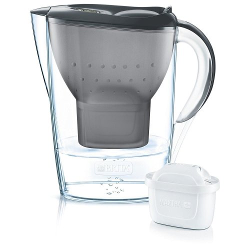BRITA Graphite Marella Cool Water Jug & MAXTRA+ Filter