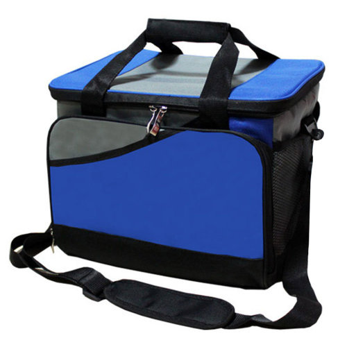 Outdoor Picnic Bag  Large Soft Cooler Insulated Picnic Lunch  Bag for Grocery, Camping, Car, #H
