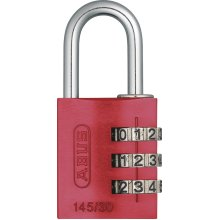 ABUS 145/30 Combination Padlock - Red