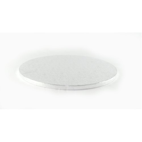 """6"""" Silver Round Cake Drum Board 12mm Thick"""