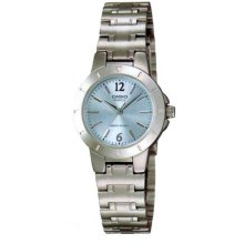Casio Stainless Steel Ladies Watch LTP-1177A-2A