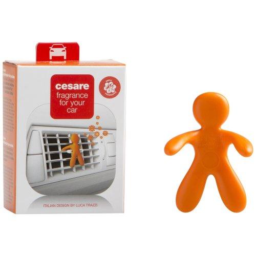 MrandMrs Fragrance Cesare Car Air Freshener Energy, Orange