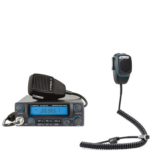 CB Radio  Albrecht AE 5890 + Dual Mike smart microphone with 6-pin Bluetooth