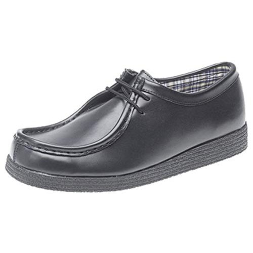 Route 21 Boys School Shoes Black