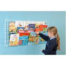 Horizontal Wall Book Rack (A1175)