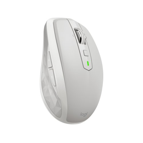 Logitech MX Anywhere 2S RF Wireless+Bluetooth 4000DPI Right-hand Grey,White mice