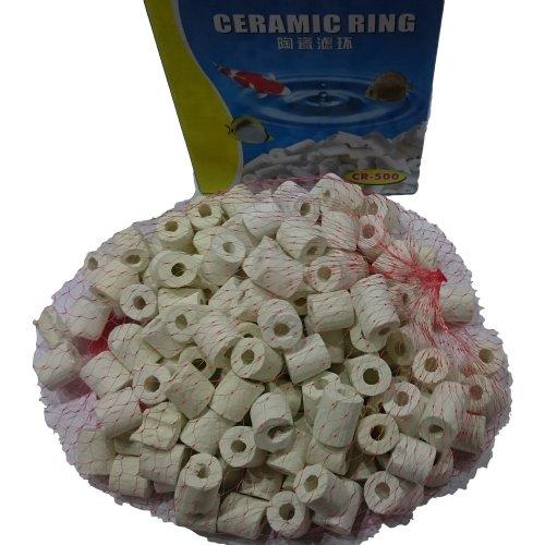 Superaqua Aquarium Filter Ceramic Bio Rings Media.