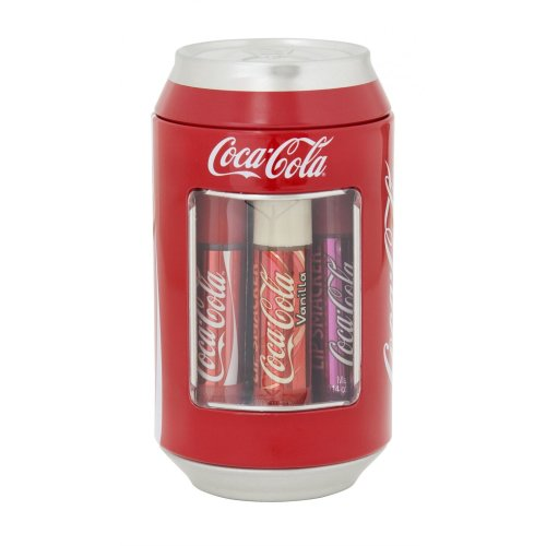 6pc Lip Smacker Coca Cola Can | Set of Coca Cola Lip Balms