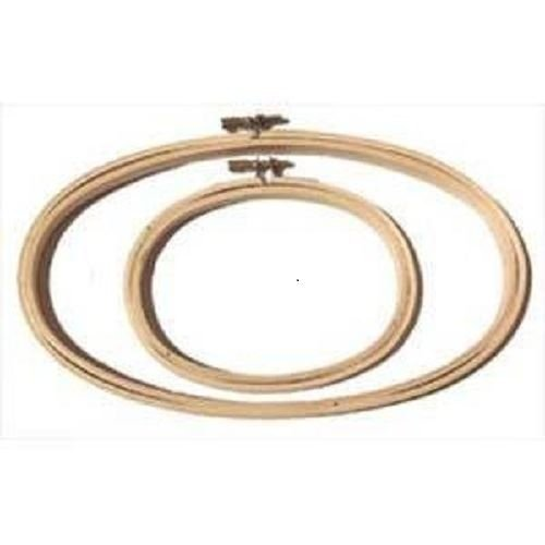 """Oval Embroidery Hoop - 3"""" x 5"""""""