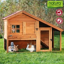 Luxury Rabbit Hutch with Enclosure