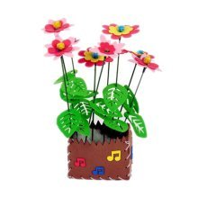 2 Sets Of Creative Unfading Children DIY Potted Decorative EVA Flowers