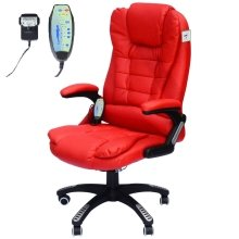 Homcom Massage Office Computer Chair W/heat