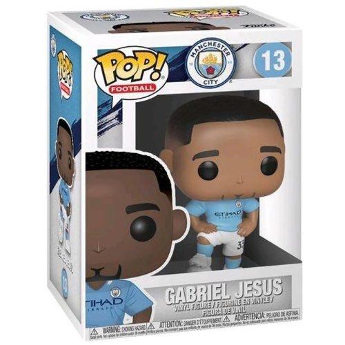 Funko Football Gabriel Jesus Pop! Premier League Man City Vinyl Figure #13