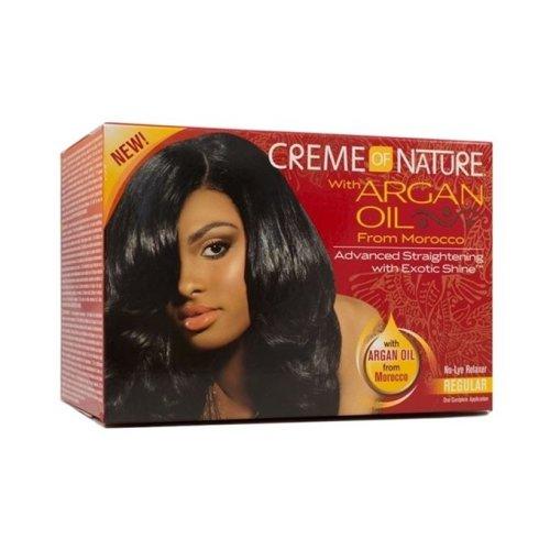 Crème of Nature Argan Oil Relaxer Regular