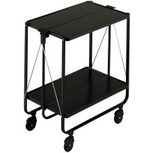 Leifheit Folding Kitchen Trolley Black 74237