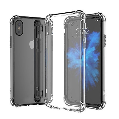 For iPhone XS (5.8) Anti-Shock Crystal Clear Transparent Panel Cover