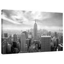 New York Skyline Canvas Wall Art Picture Print