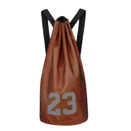 Training Backpack Basketball Volleyball Soccer Pocket Outdoor Sport Organizer Bag-Orange