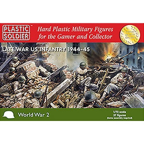 Plastic Soldier 1/72 Late War US Infantry 1944-45 # WW2020006