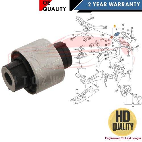 FOR SKODA REAR LOWER SUSPENSION WISHBONE CONTROL ARM INNER BUSH HD 1K0505311AB