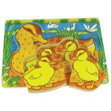 Bigjigs Chunky Duck and Duckling Puzzle