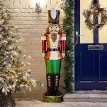 Winter Workshop - 5.5ft Indoor & Outdoor Poly Resin Nutcracker Christmas Figure