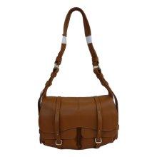 RADLEY 'Grosvenor' Tan Leather Medium Shoulder Bag