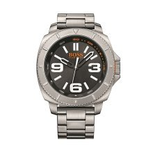 Hugo Boss 1513161 Mens Black Stainless Steel Band Black Dial Watch
