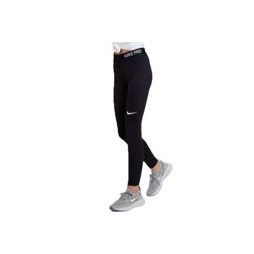Nike Girl's Pro Tights 890228-010 Kids Black leggings Size: XL