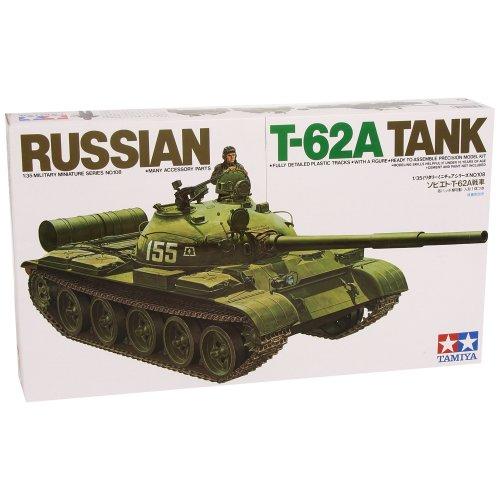 Tamiya Plastic Model 1: 35Russian Combat Tank T62A 3000351081