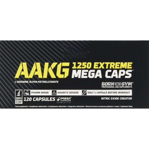 0783dc9842f Olimp AAKG Extreme Mega Capsules - Pack of 120 Capsules on OnBuy