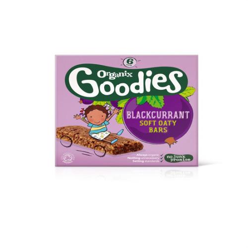Organix Goodies Blackcurrant Oaty Bar 6 X 30g