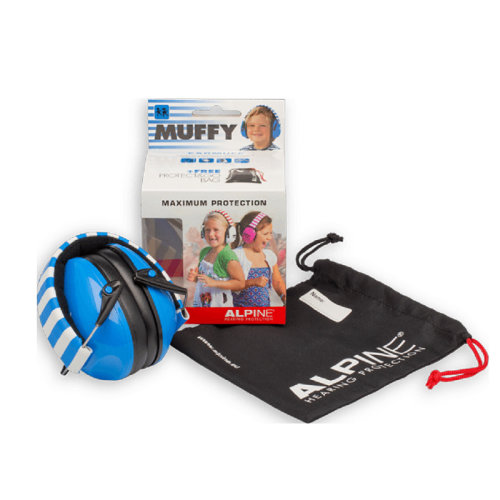 Alpine Kids Muffy Earmuffs Blue