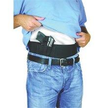 PS Products BELLYBANDM Belly Band Concealment Elastic & Hook Eye Adhesive  Medium - Black