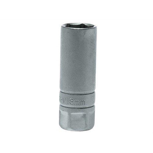 Teng TENM120042 Spark Plug Socket 1/2in Drive 18mm