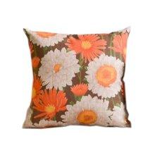 Elegant Chrysanthemum Pattern Home Furnishing Pillow / Cushion