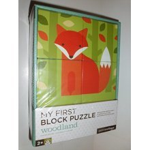 My First Block Puzzle, in Woodland