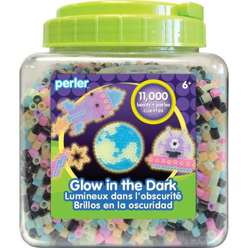 Perler Fused Beads 11,000/Pkg-Glow In The Dark