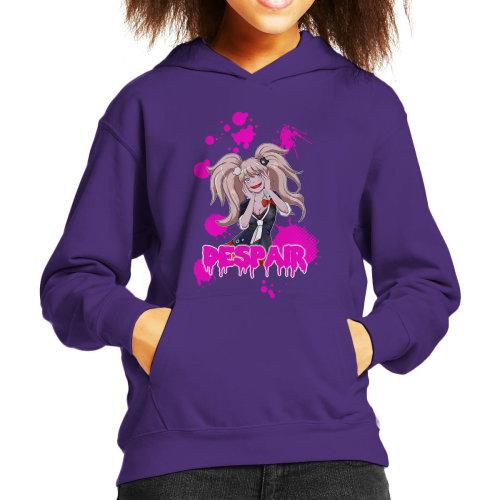 Despair Junko Enoshima Danganronpa Kid's Hooded Sweatshirt