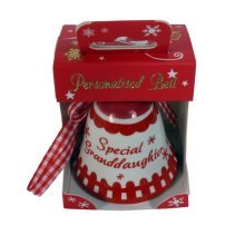 Babys First Christmas Bell Red