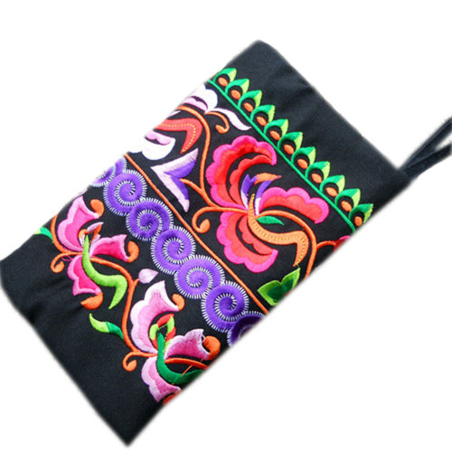 Double-sided Embroidery Needlecrafts Handmade Embroidery, Wallet & Purse bag(4)
