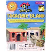 Smartkitz Pet Shacks Treasure Island Small
