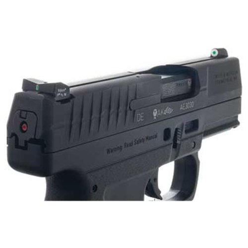XS Sight Systems WT-0002S-5 24 & 7 Sight Walther Pps Green With White Outline Front & Rear