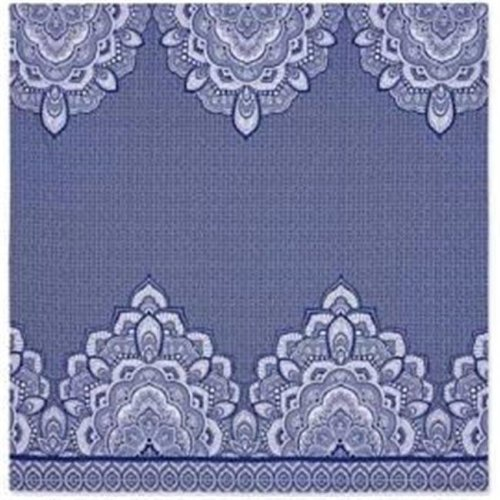 Intelligent Design ID51-1183 90 x 90 in. Printed Wall Tapestry, Blue