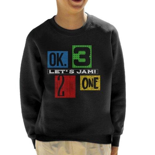 Lets Jam Cowboy Bebop Kid's Sweatshirt