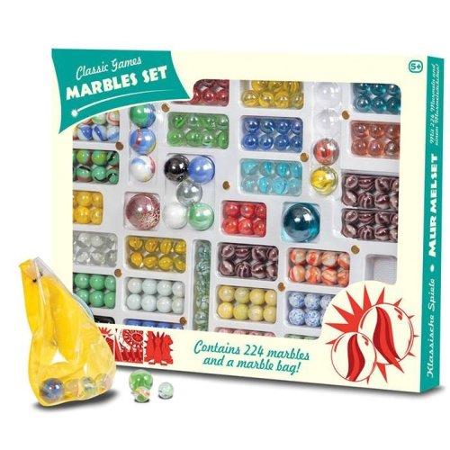 224 Piece Classic Marble Set