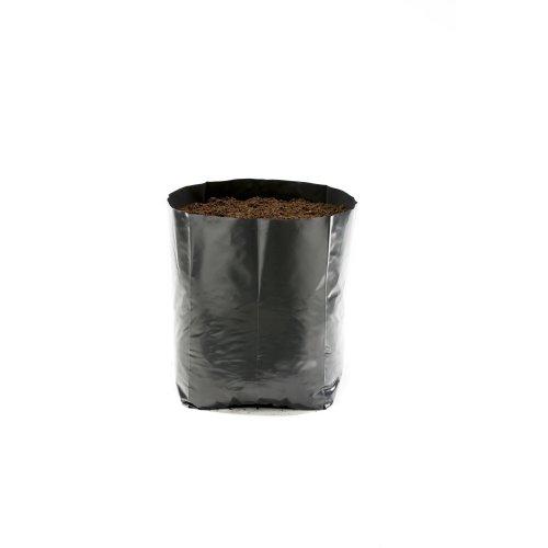 Hadopots 0.5L Polythene Plant Pots (Pack of 50)
