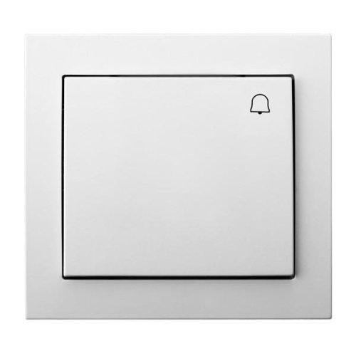 Big Button Reactive Push Release Door Bell Switch Plate