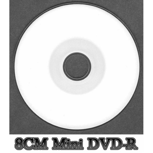 Blank White Inkjet Printable Mini DVD-R Disc Full Face (12x 30min 1.4GB)