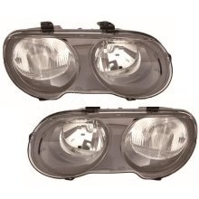 Rover 25 1999-2006 Headlights Headlamps 1 Pair O/s & N/s